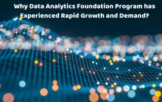 Data Analytics Foundation Program has Rapid Growth and Demand