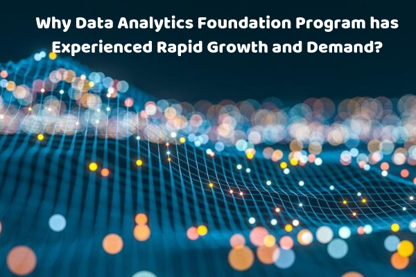 Data Analytics Foundation Program has Rapid Growth and Demand