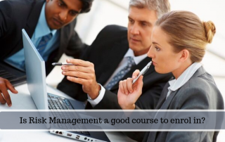 Is Risk Management a good course to enrol in?
