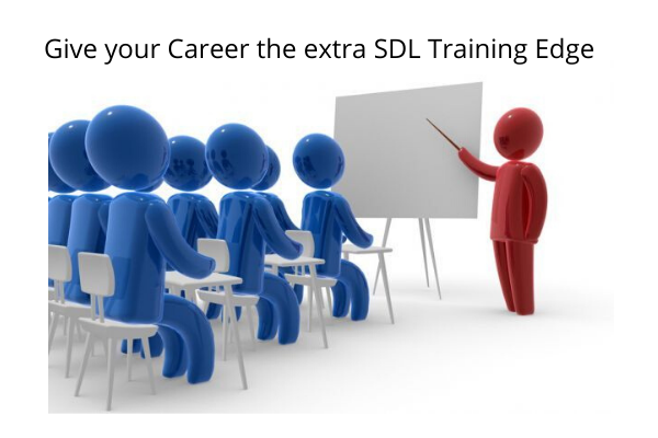 Give your Career the extra SDL Training Edge